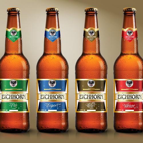 Erstellen von Bieretiketten. Beer labels!
