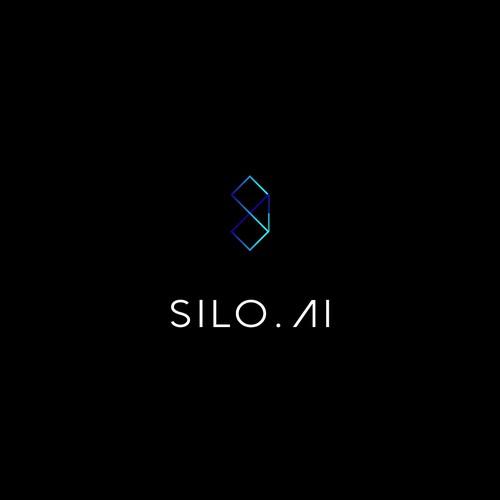 Minimalist logo for ai company