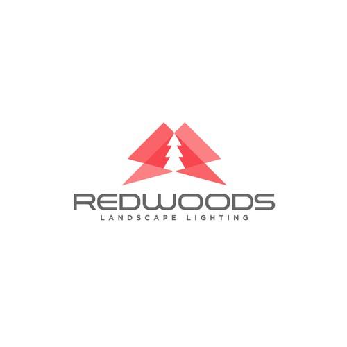 redwood + light logo
