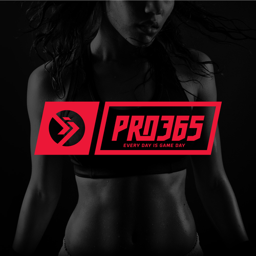 Logo concept for fitness brand.