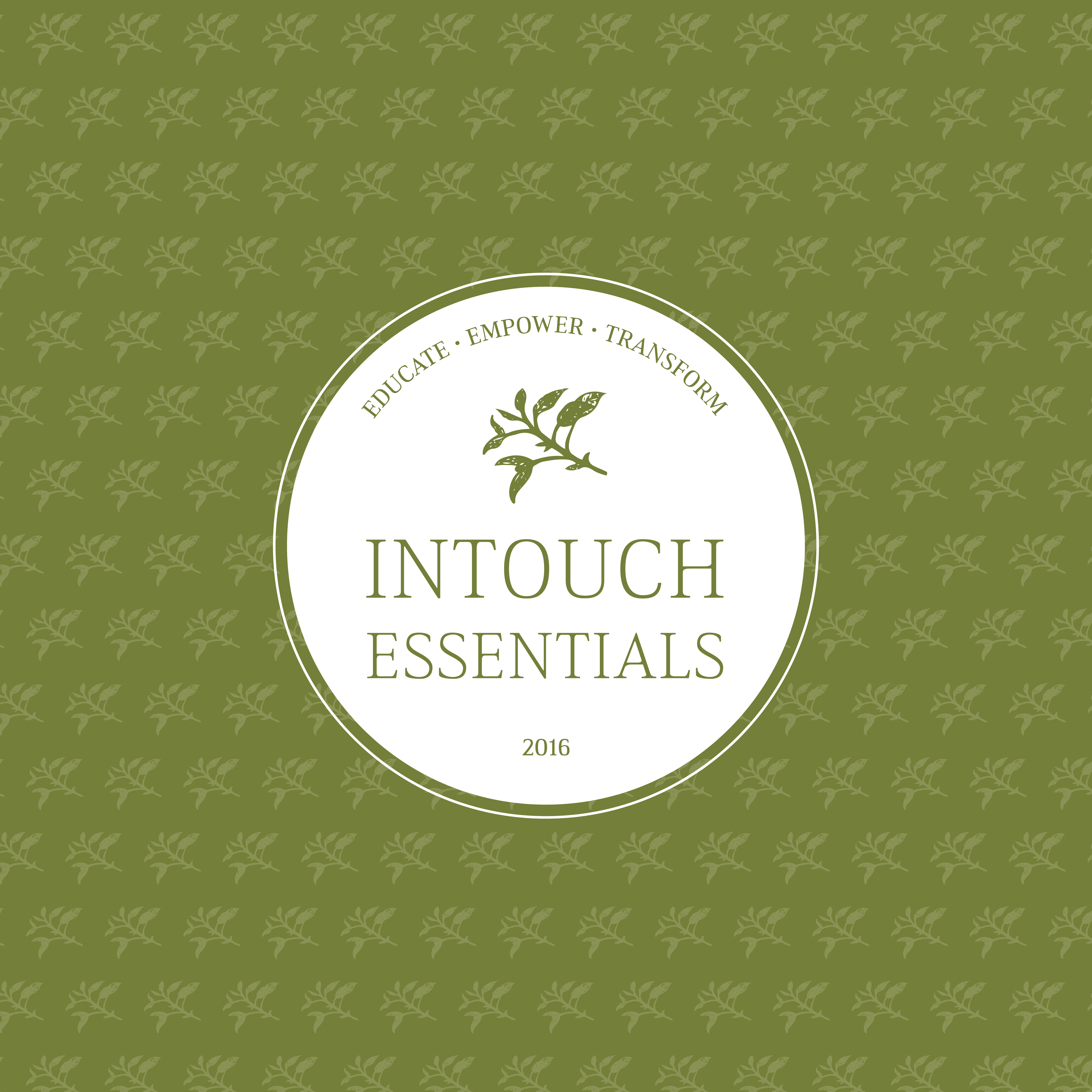 Logos and Branding for Intouch Essentials