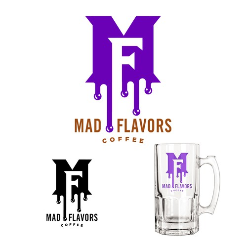 Mad Flavors Coffee Logo