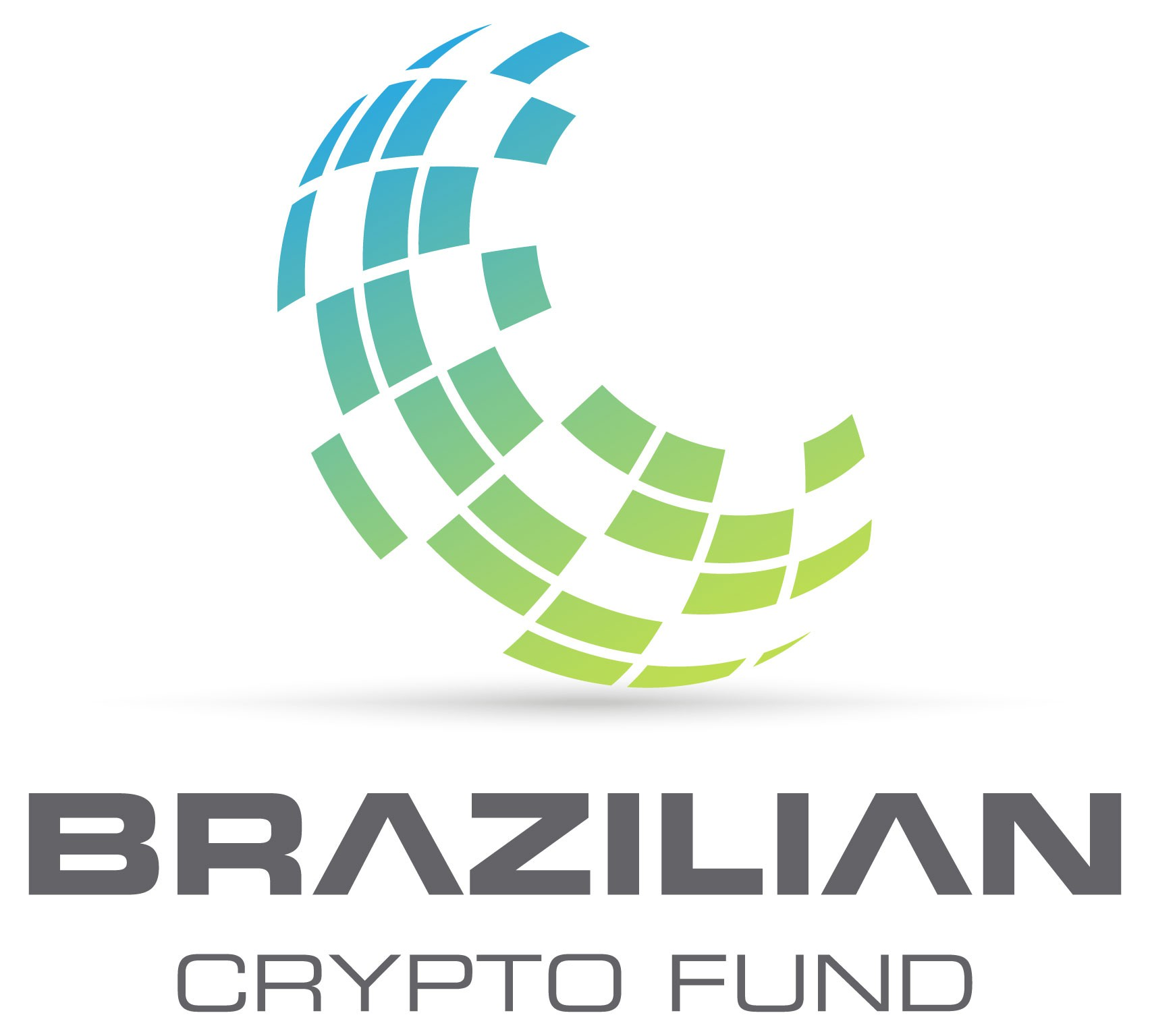 Wall street meets cryptocurrencies logo. Be part of the revolution.