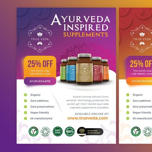 Indian Supplement / Vitamin Magazine ad