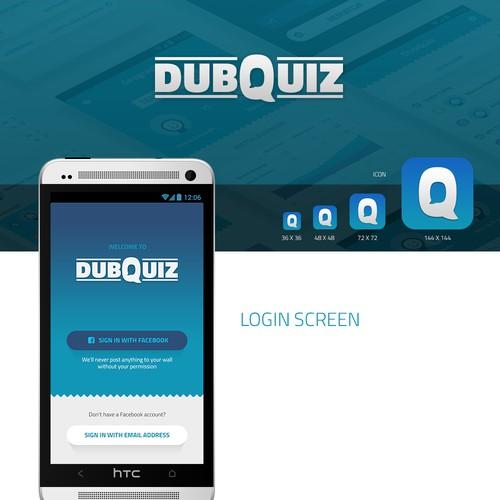 App design for DubQuiz