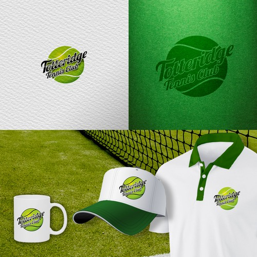 Logo Concept for tennis club