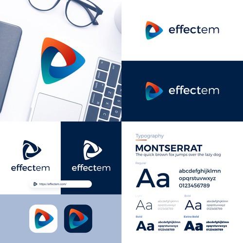 Winning Logo for Effectem