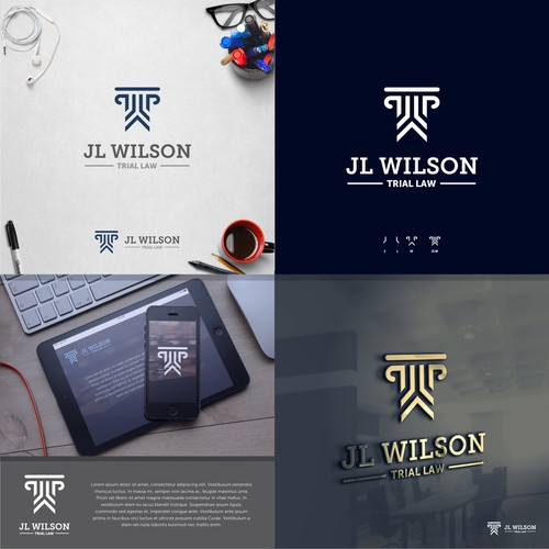 Logo Concept for JL WILSON Trial Law