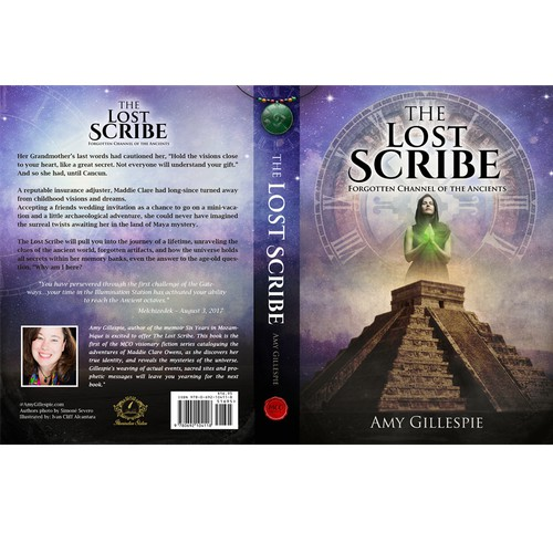 "Book Concept for ""The Lost Scribe"" by Amy Gillespie"