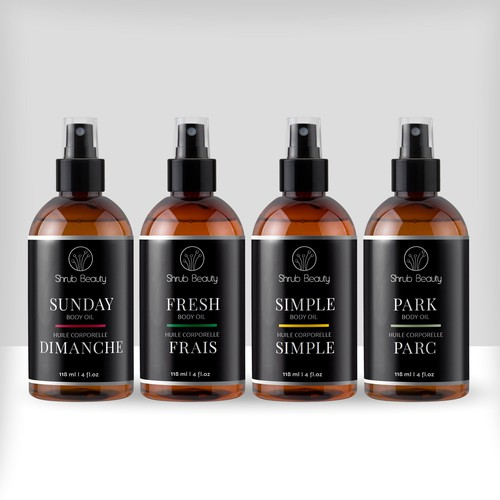 Shrub Beauty body oils