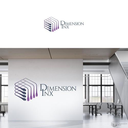 logo for dimension inx