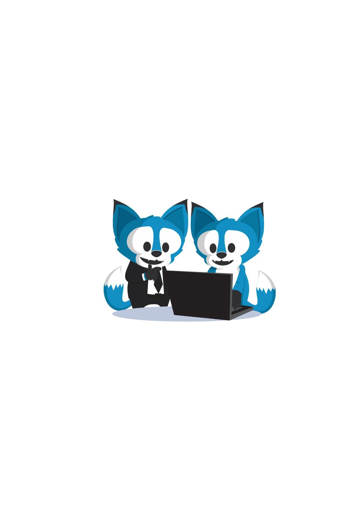 Unique Software Crafter Mascot