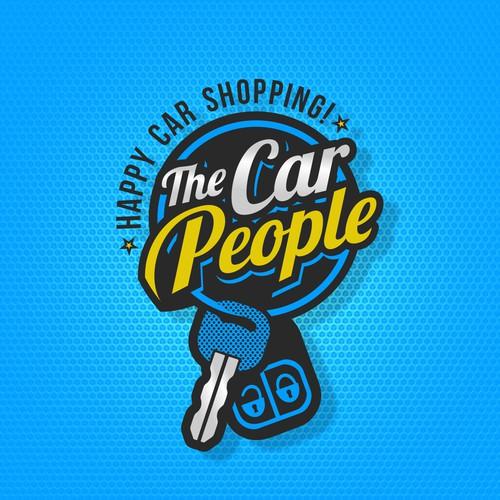 The Car People logo design