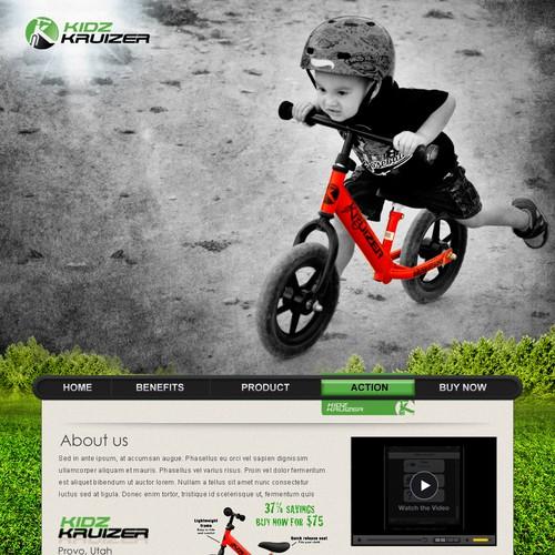 New website design wanted for Kidz Kruizer