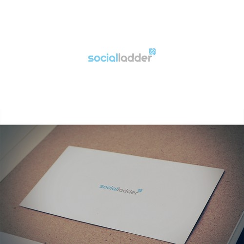 Logo concept for a social media website