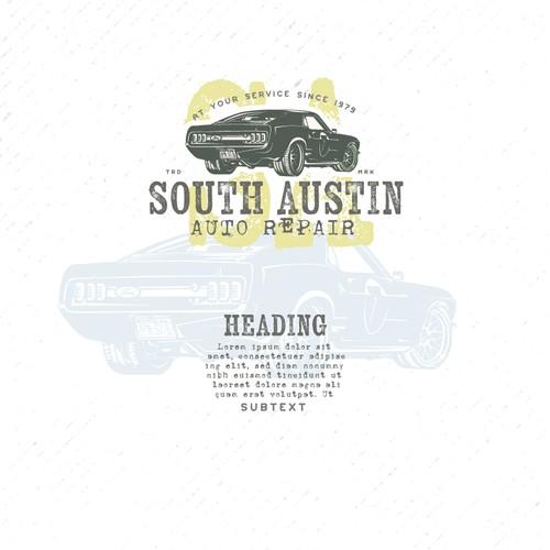Logo for an Auto Repair shop