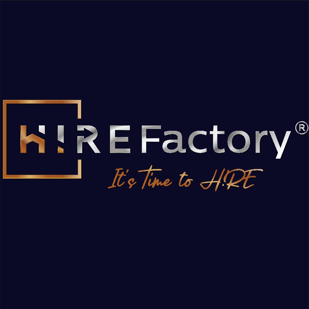 H!RE Factory sucht Logo