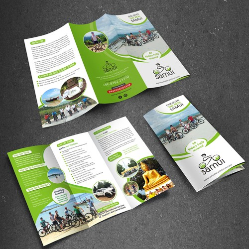 THAILAND BICYCLE TOUR BROCHURE