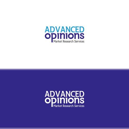 Logo design for a company providing Qualitative Market Research Services.