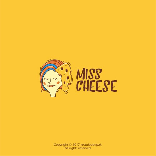 "Create a ""Miss Cheese"" Logo"