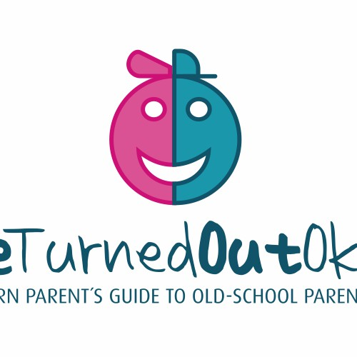 Create a logo for We Turned Out Okay: A Modern Parent's Guide to Old-School Parenting