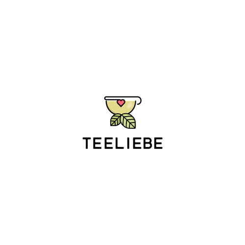 Bold Logoconcept for Teeliebe