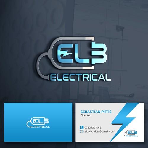 Powerful logo winner of ELB Electrical