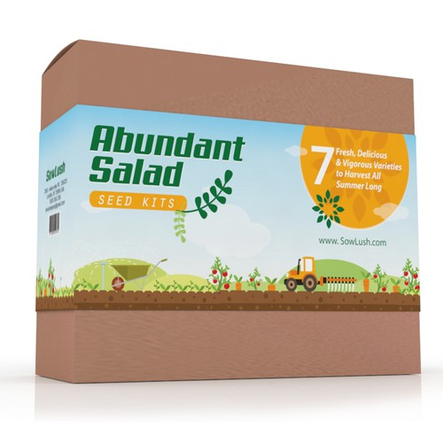 Seed Kit Packaging