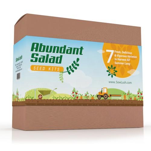 Seed Kit Packaging