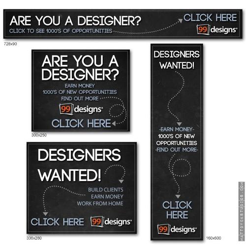Banner set for 99Designs