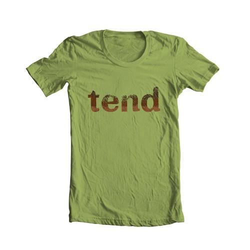 Soil effect logo customization for t-shirt