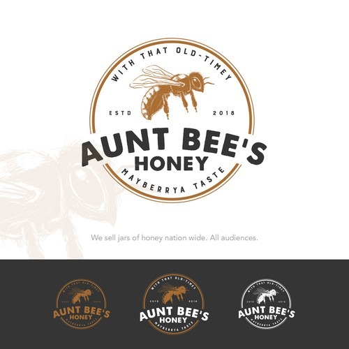 Aunt Bee's Honey