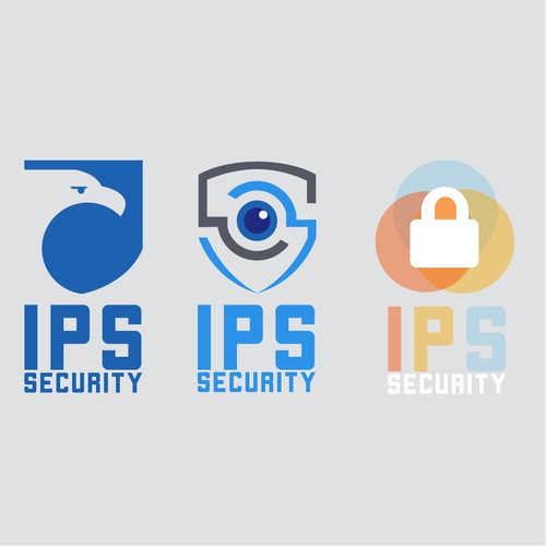 Bold Logo for IPS Security
