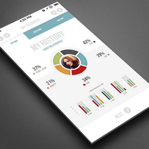 99Designs RockStar?  Design a Clean and Progressive iOS 7 Mobile App
