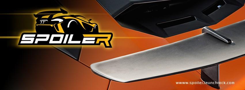 Build a high performance logo for the automotive app Spoiler