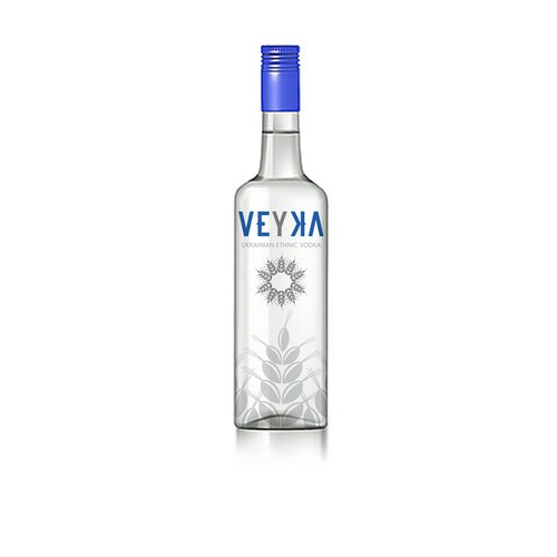 Label concept for vodka