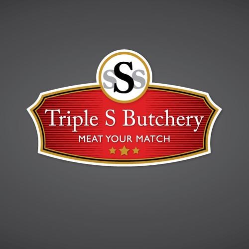 Triple S Butchery needs a new logo