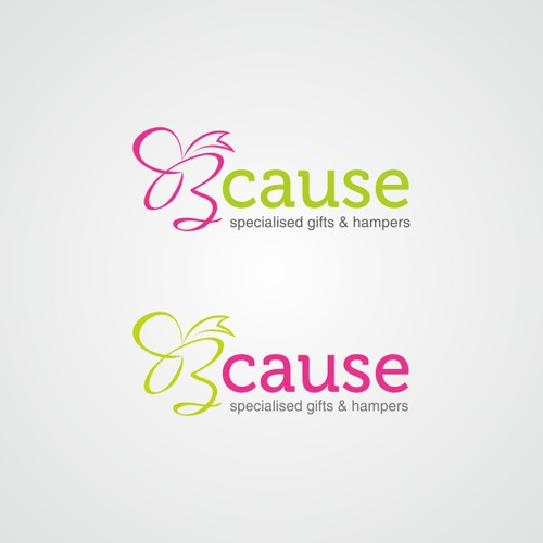 Playful logo for Bcause