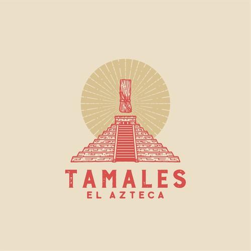 Logo Concept for Tamales El Azteca