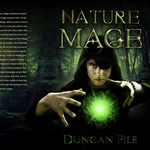 Nature Mage cover design