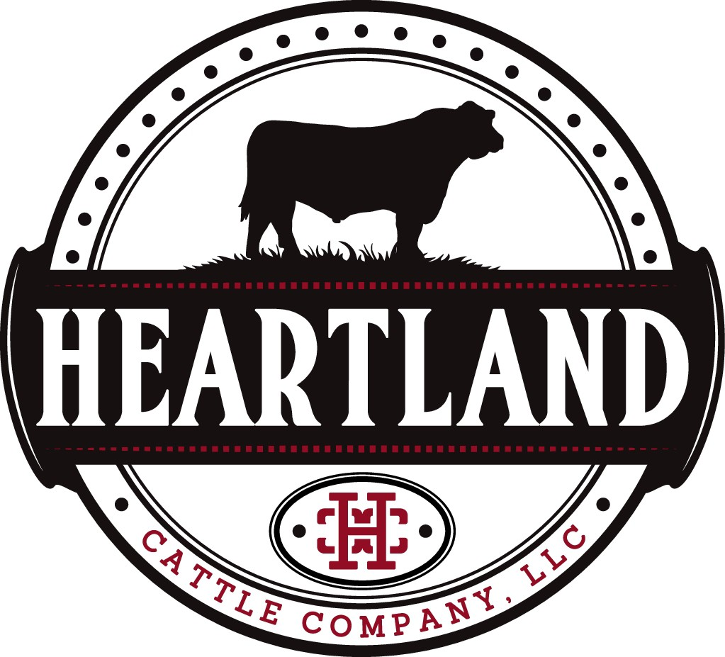 Design a simple and classy logo for Heartland Cattle Company