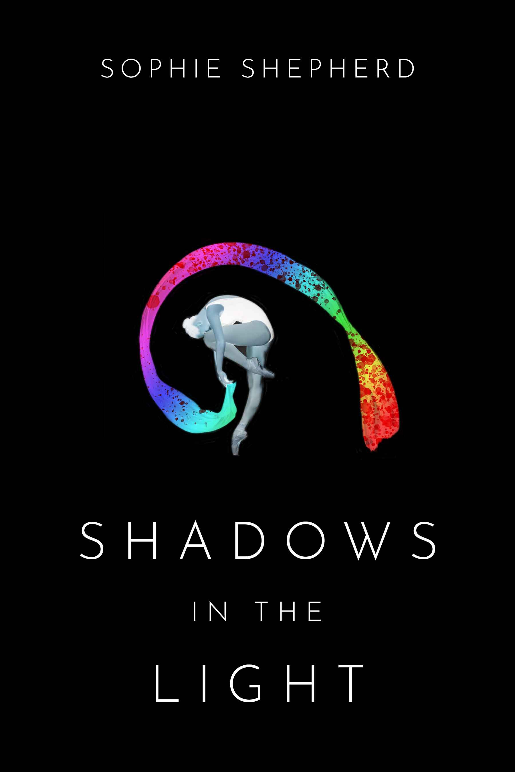 Dramatic cover for YA dystopian novel: Shadows in the Light