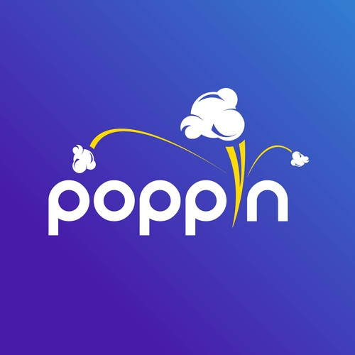 Logo concept for Poppin