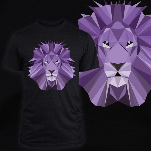 Lion Low poly Design a powerful tee resounding in the Abundance of HOPE