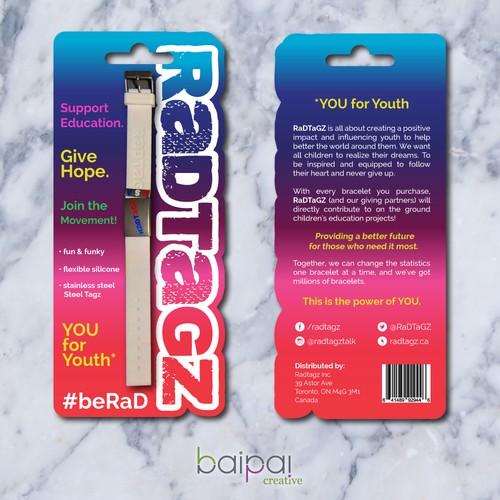 RaDTaGZ Bracelet Packaging