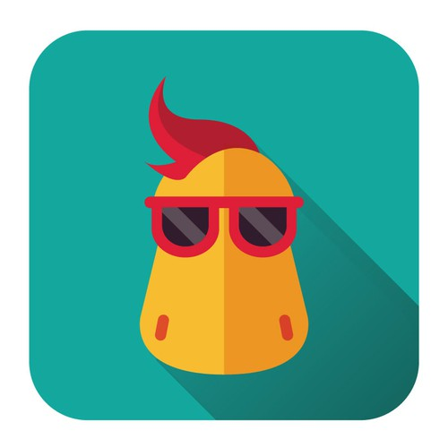 Dinosaur Mascot Icon