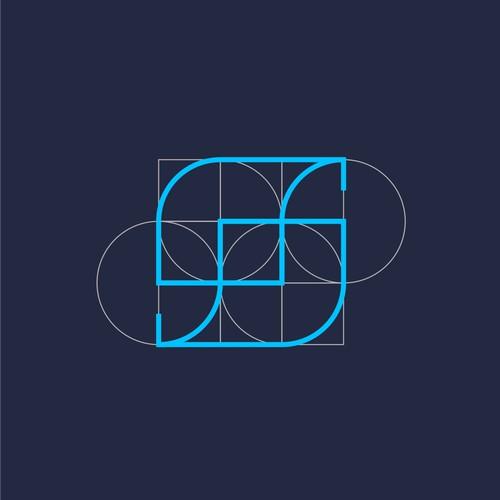 S lettermark Logo concept