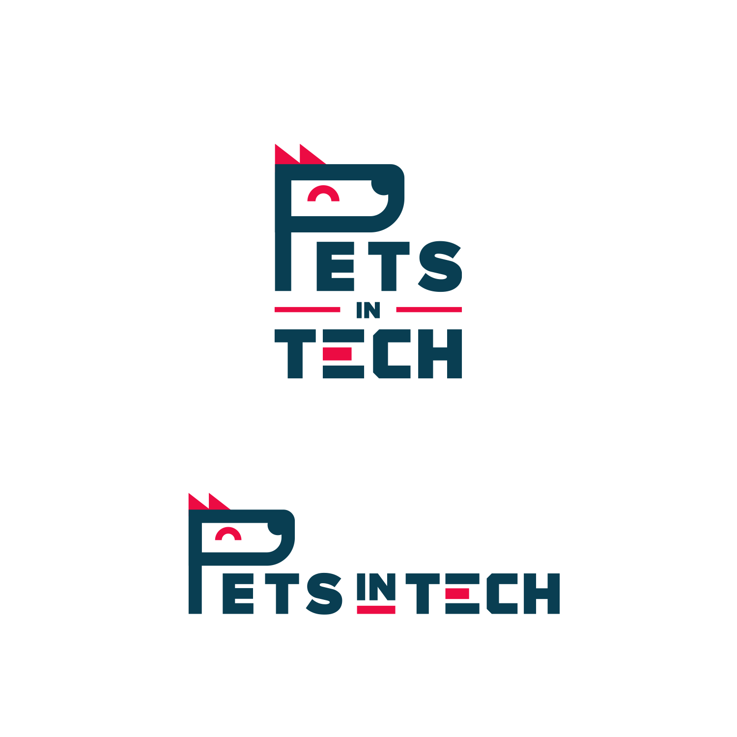 Design an awe-inspiring typography-heavy logo for Pets In Tech