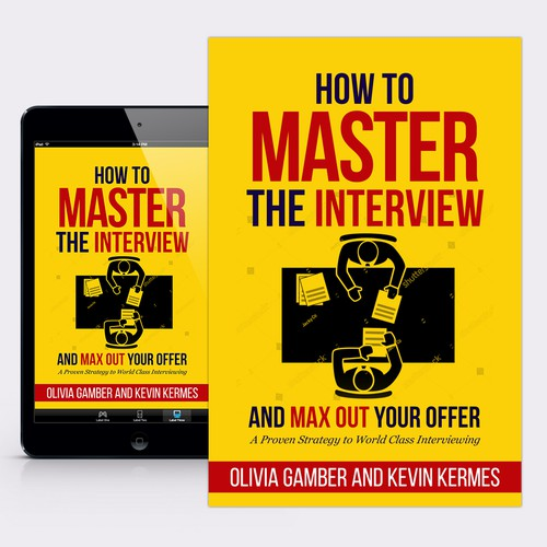 "Book Cover for ""How to Master the Interview"" by Olivia Gamber"