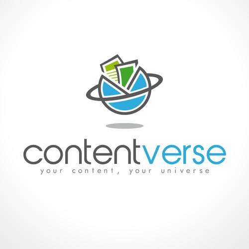 Create a logo for Contentverse